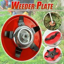 Weeder Plate Blades Lawn Mower Grass Eater Trimmers Head Brush Cutters Tools