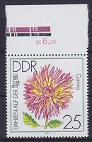 DDR Mi Nr. 2437 F 5 OR Oberrand **, PF Plattenfehler 1979, postfrisch, MNH