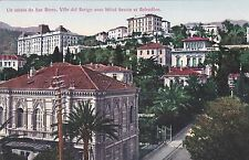 SAN REMO - Ville del berigo avec Hotel Savoie et Belvedere