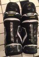 "Bauer Supreme 2S Ice Hockey Shin Pads 15"" Adult Size"