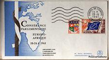 CONSEIL DE L EUROPE  AFRIQUE  1961  Co165