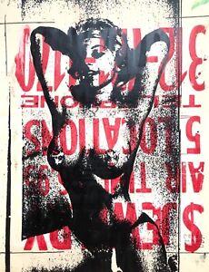 Peter Mars Outsider Art Striptease Mid Century Women Pinups Burlesque Sexy Racy