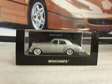 MINICHAMPS - BENTLEY S1 CONTINENTAL - SILVER - 1/43 SCALE MODEL - 436 139552