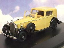 1/43 Rolls Royce Spectre III SDV HJ Mulliner Faon / Noir Ox43rrp3002