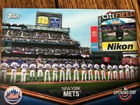 New York Mets 2018 Topps Opening Day Opening Day at the Ballpark Insert