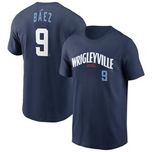 Javier Baez #9 Chicago Cubs Wrigleyville 2021 Baseball Unisex T-Shirt S-5XL