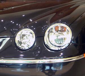 Jaguar S-Type 2005 to 2008 headlight trims