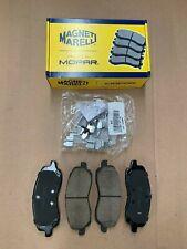 NEW MOPAR MAGNETI MARELLI 07-17 FRONT BRAKE PADS CALIBER AVENGER COMPASS 200