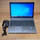 "🔥 Hp Probook Laptop 4540s 15.4"" I5 256gb Ssd 8gb Windows 10 Pro Dvd Burner 🔥"