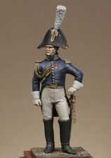 Metal Modeles Napoleonic Imperial Guard Staff Officer 54mm Unpainted Kit
