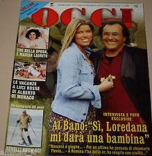 OGGI=2001/13=AL BANO CARRISI=LECCISO=TRECASTAGNI=RICCARDO COCCIANTE=SHARON STONE