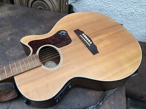 Guild f4 Nt Hr Electro Acoustic Guitar, USA, With Case