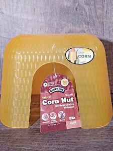 SuperPet Corn Hut Hideout Small Animals- biodegradable- Hamster, Gerbil, Mice