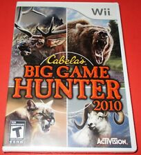 Cabela's Big Game Hunter 2010 Nintendo Wii *Brand New! *Free Shipping!
