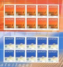 Europa CEPT 2004 vacanze-Lituania 842-43 piccoli archi **