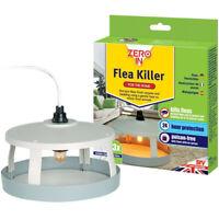 Zero in Flea Killer Trap Electronic Poison Free 24 Hour Protection Kills Fleas