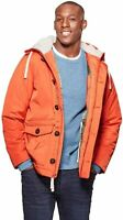Goodfellow & Co Men's Thermore Water Resistant Parka Jacket - Orange small New