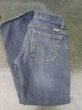 Wrangler Boy Denim Jeans Adjustable Waist Size 8 Regular Pre-owned