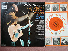 CBS 62488 PETE SEEGER the bitter and the sweet LP 1st Press UK 1965 Rare