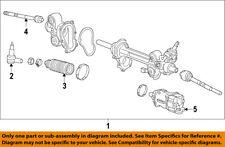 GM OEM Steering Gear-Outer Tie Rod End 22966605