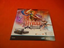 The Legend of Zelda Hyrule Warriors Nintendo Wii U Promo Store Display Sticker