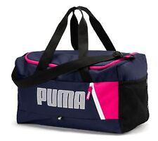 PUMA Fundamentals Sports Bag Graphic S II Peacoat