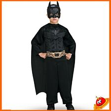 Costume Carnevale Ragazzo Super Eroe Bambino Batman The Dark Knight Tg 8-10 anni