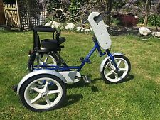 Theraplay Terrier Trike Hand Propelled Pedalled Mobility Disability Bike Special