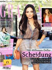 Grazia - Zeitschrift mit Neuigkeiten für die Frau von heute - diverse Ausgaben