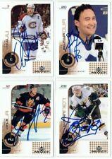 "SAKU KOIVU autographed SIGNED '02/03 MONTREAL CANADIENS ""Upper Deck MVP"" card"