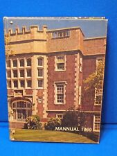 1969 Mannual Horace Mann High School Yearbook Gary Indiana Student Alumni Class