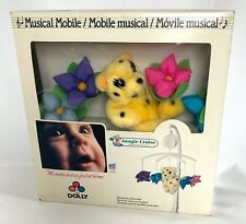 Vintage Dolly Musical Mobile Mounts on Crib JUNGLE CRUISE Animals NEW in Box