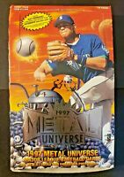 1996 & 1997 Fleer Metal Universe Baseball Hobby Box w/ 22 Sealed Packs! Griffey