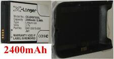 Shell +. Battery 2400mAh For BLACKBERRY Bold 9790 type BAT-30615-006 JM1