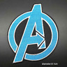 Avengers Logo Marvel Patch for Embroidery Cloth Patches Badge Iron Sew On