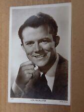 Film Star postcard Lon McCallister Real Photo unposted