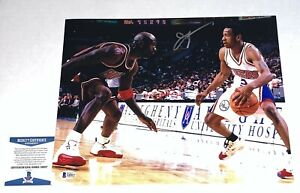 Allen Iverson signed Philadelphia 76ers 11x14 photo autographed #4 Beckett