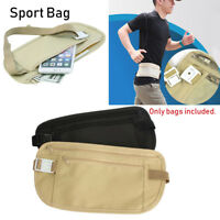 Travel Pouch Wallet Passport Money Waist Belt Bag Slim Travel Bags Chest Packs