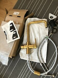 Boiling Water Tap Gold/Brass