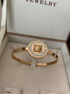 Stylish Medusa Bracelet 18k Gold Filled