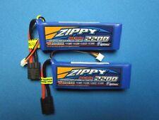 2x 2200mah 2S 7.4v Lipo Battery 1/16 TRAXXAS Mini E-Revo Slash Rally Summit VXL