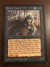 ZOMBIE MASTER Collector's Edition Magic the Gathering MTG 93/94 Old School CE
