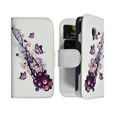 Housse Coque Etui Portefeuille pour Samsung Galaxy Ace 2 i8160 Motif HF01