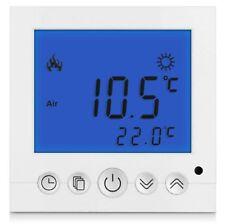 Digital Thermostat Raumthermostat Fußbodenheizung Wandheizung LED blau      #a30