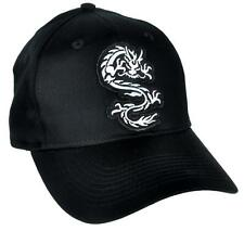 Martial Arts Chinese Dragon Hat Baseball Cap Alternative Clothing Bruce Lee