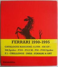 FERRARI 1990-1995 OPERA OMNIA CATALOGUE RAISONNE BRUNO ALFIERI CAR BOOK