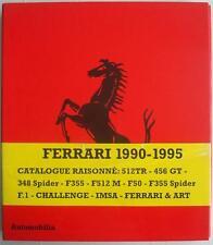 FERRARI 1990-1995 OPERA OMNIA CATALOGUE RAISONNE BRUNO ALFIERI CAR BOOK