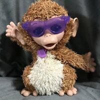 FurReal Friends Monkey Baby Cuddles Giggly Pet Plush Interactive Toy Gift RARE