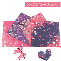 DIY Cherry Blossom Double Sides Craft Paper Sakura Origami Paper Scrapbooking