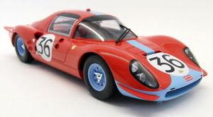 CMR 1/18 Scale - 039 Ferrari Dino 206S #36 24H Le Mans 1966 Red Resin model car